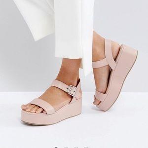 ASOS Toucan espadrille sandal size 10